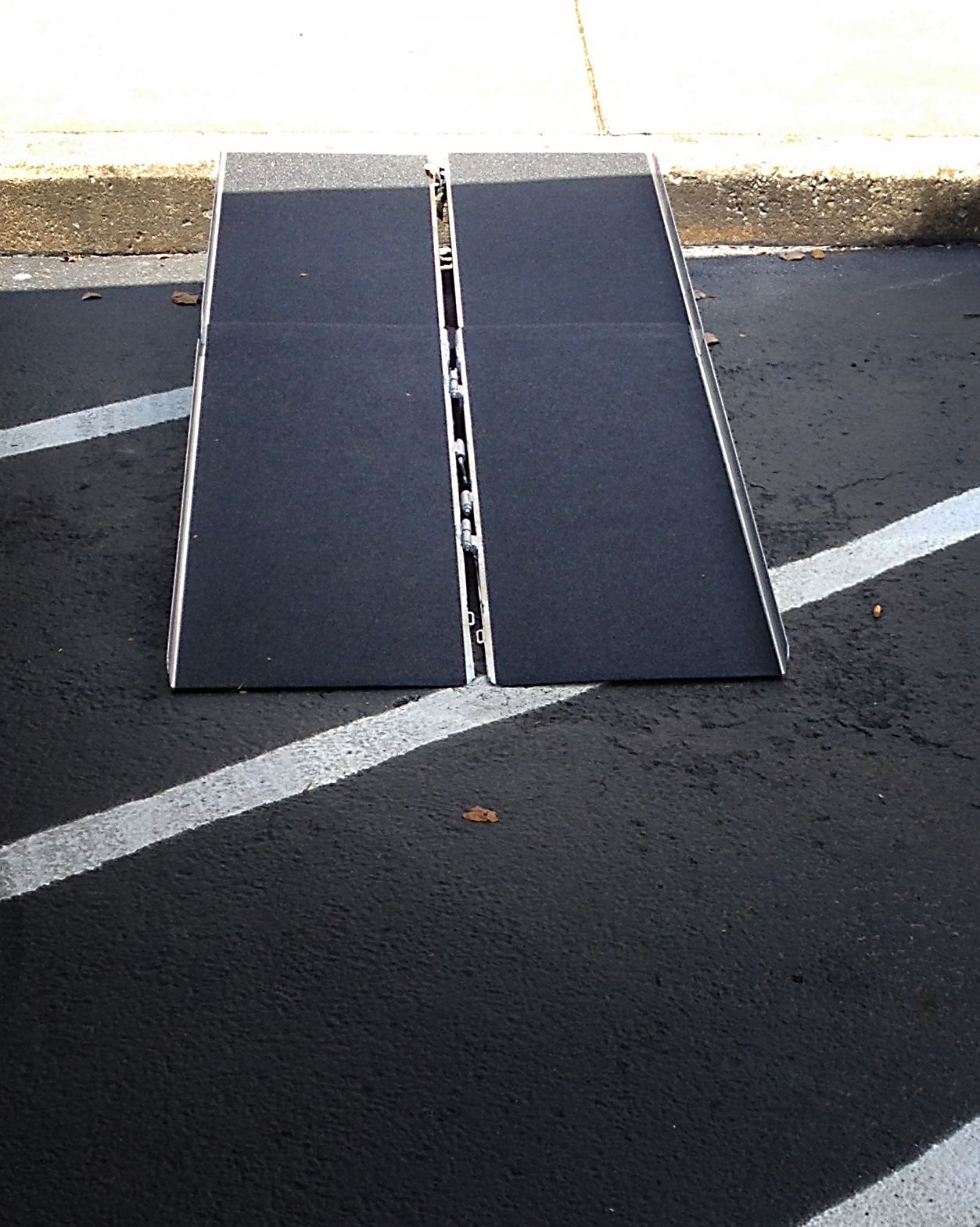 Portable Curb Ramp