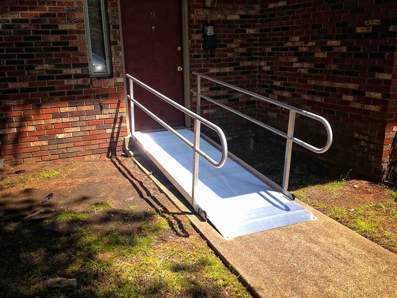 Temporary Aluminum Ramp