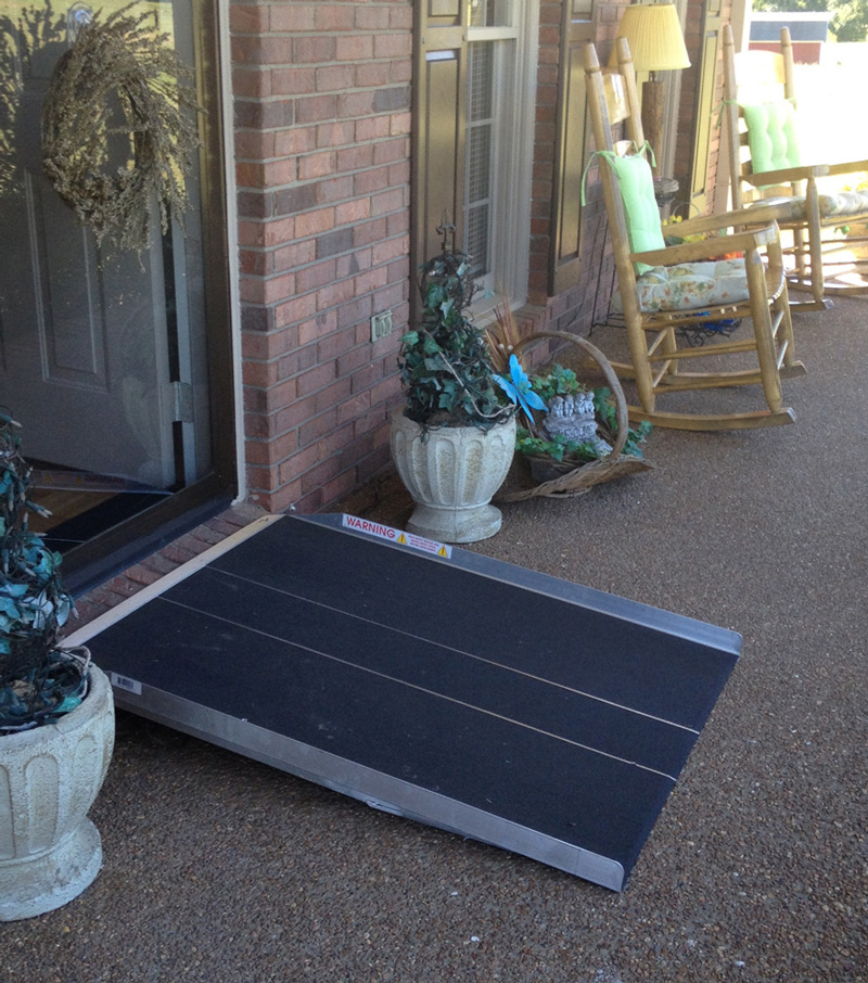 Portable Aluminum Ramp 9-26