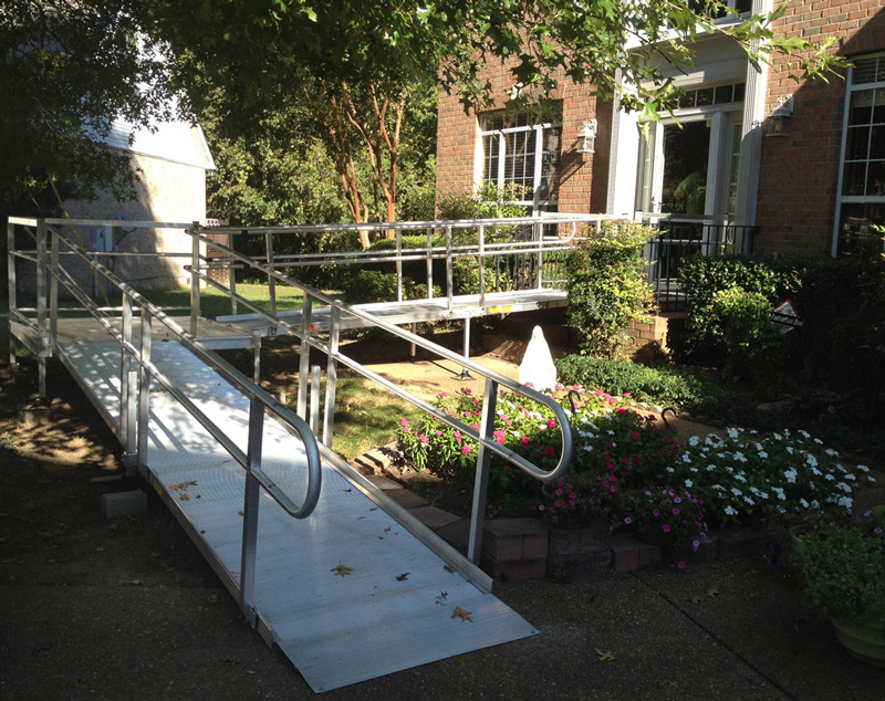 Temporary Aluminum Ramp 9-26