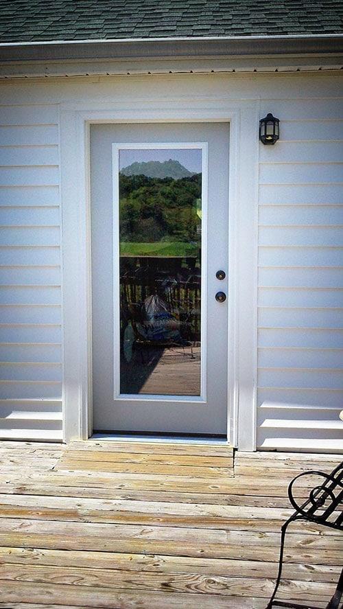 Exterior Door Widening